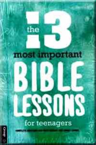 Basic Bible Lessons for Middle schoolers - Teen Bible Lessons